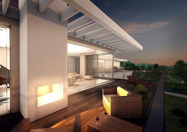 Perspetive-Kamin-Staffelgeschoss-Terrassenhaus